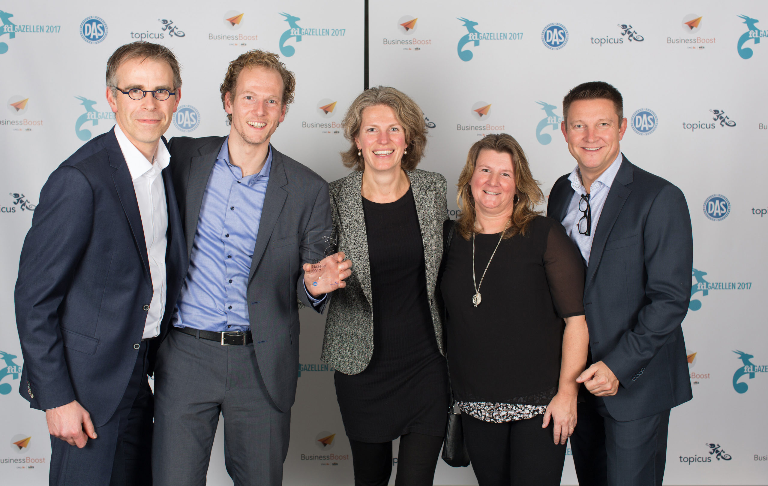 FD Gazellen Awards 2017 Lean Six Sigma Groep