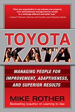 Toyot Kata cover. Hoe je van verbeteren routine maakt