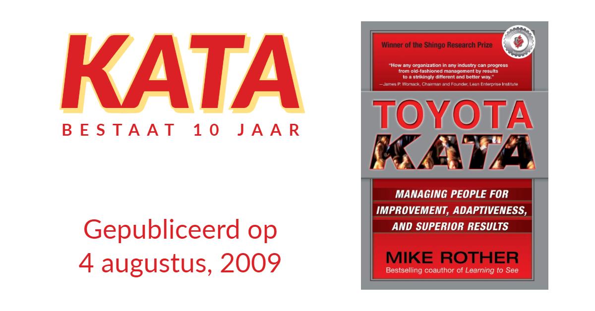 Toyota Kata bestaat 10 jaar