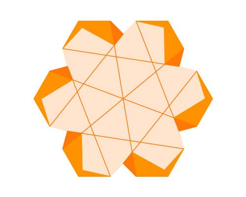 Lean Six Sigma Orange Belt Logo