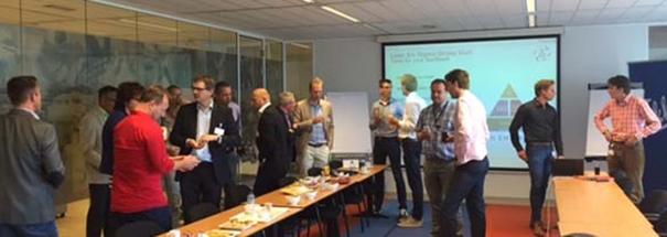 Leanspiratie bedrijfsbezoek Fokker Services in Hoofddorp