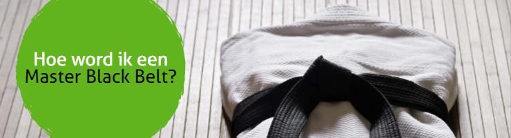 Hoe word ik een Master Black Belt?