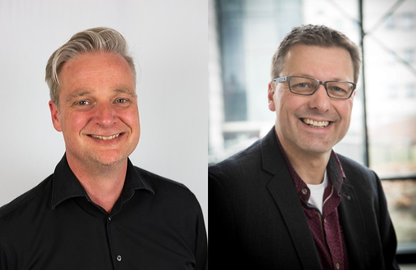 Lean Agile Coach trainers Colin en Gert presenteren Agile Coach en Scrum Master opleiding