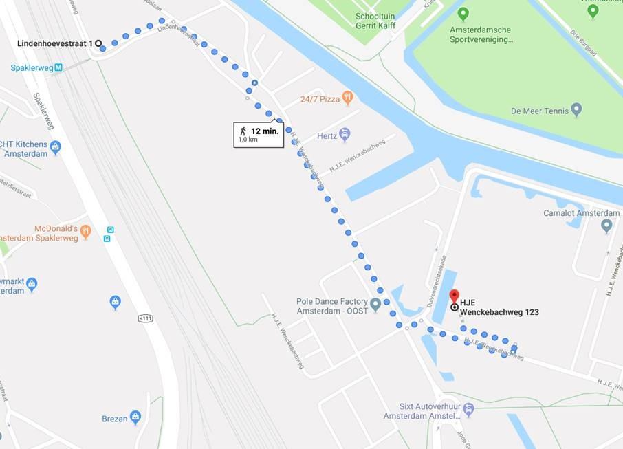 Openbaar vervoer trainingslocatie Lean Six Sigma Groep Amsterdam