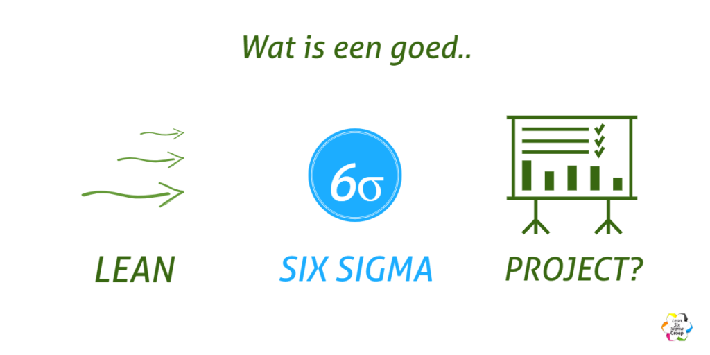 Wat is een goed Lean Six Sigma project?