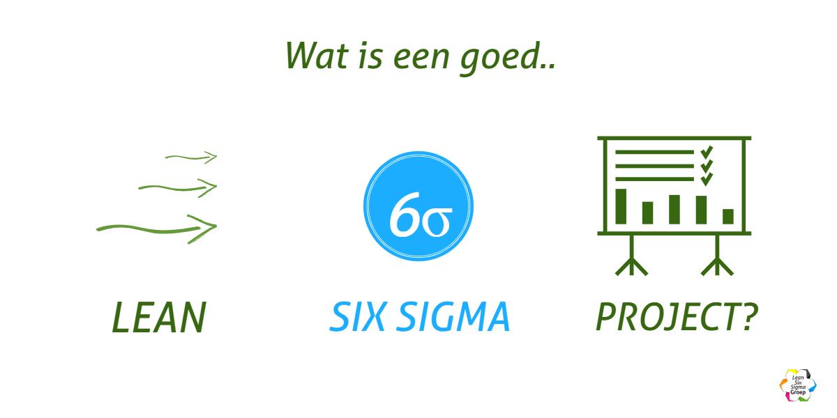 Wat is een goed Lean Six Sigma project?