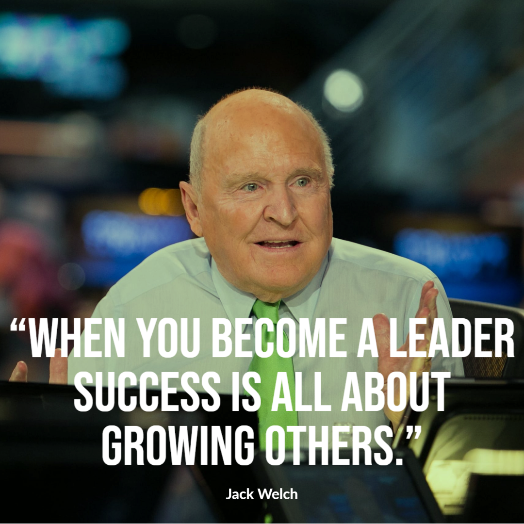 Jack Welch Six Sigma Champion Quote