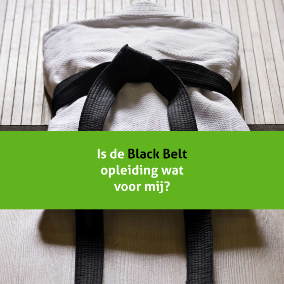 Black Belt opleiding in Lean Six Sigma