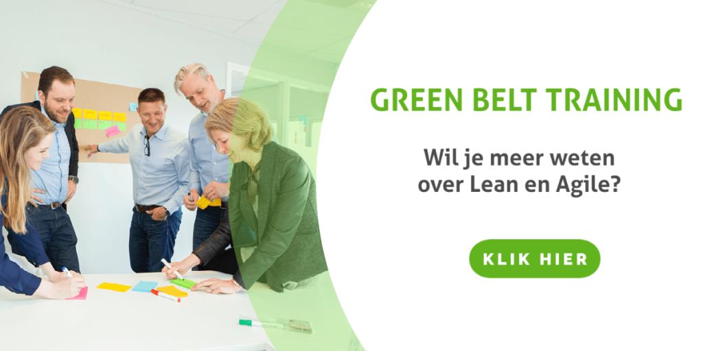 Lean Agile in onze Green Belt trainingen