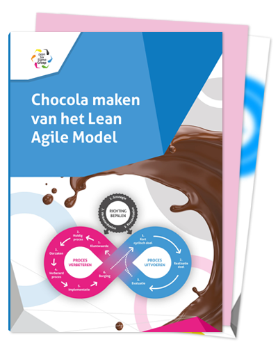 Lean Agile E-book 'Chocola maken van het Lean Agile Model'