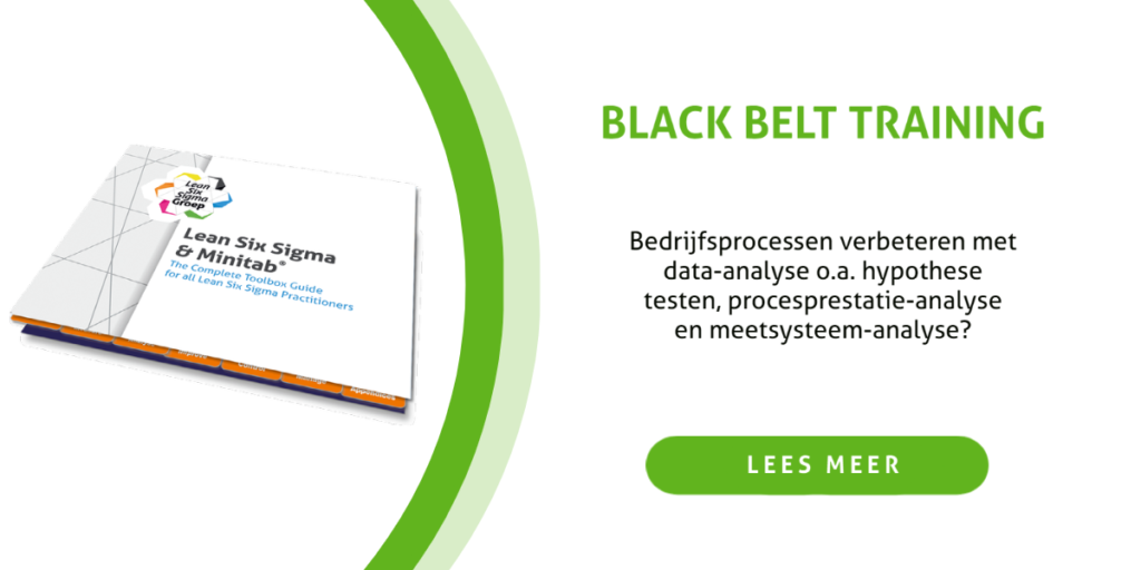 Minitab Black Belt training